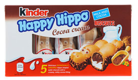 Kinder Happy Hippo Cacoa